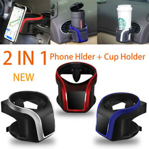 New 2 In 1 Universal Magnetic Car Phone Holder Air Vent Phone Mount cup Holder