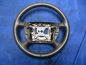 2003 04 Ford Mustang Svt Cobra Dark Charcoal Steering Wheel Leather Wrapped 064