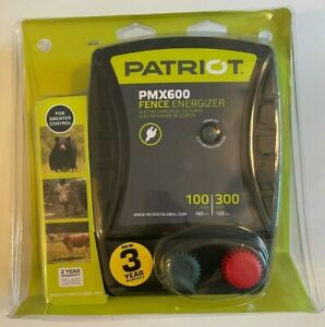 Patriot Pmx600 Fence Energizer 6 0 Joule For Electric Fence