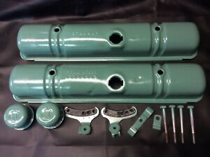 1956 1962 Buick 364 Ci Nailhead Valve Covers Cleaned And Painted