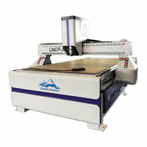 Us Stock 51 X 98in Ad Woodworking Cnc Router Engraver vaccum Table vacuum Pump