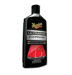 Meguiar S Ultimate Compound Scratch Can Be Used By Hand Or Machine 15 2 Oz New
