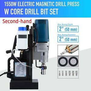 Secondhand 1550w Compact Magnetic Drill Press Boring Diameter 3500lbf Mag Drill