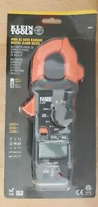 Klein Tools Digital Clamp Meter Ac Auto ranging 400 Amp With Temp cl220