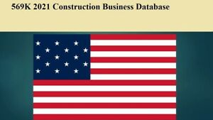 569k Usa Construction 2021 Latest Email Database Sales Leads List Marketing