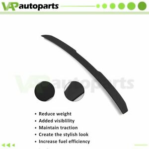 Vortex Generator Roof Window Wing Spoiler Visor For 2004 2009 Bmw E60 A C Style