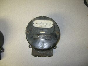 Vintage Westinghouse Watthour Meter Type Oa 5 Amp 100 Volt 60 Cycle 2 Wire