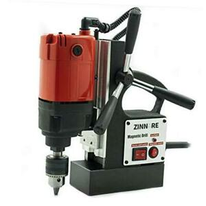 800w Electric Magnetic Drill Press Portable Heavy Duty Power Mag Drill