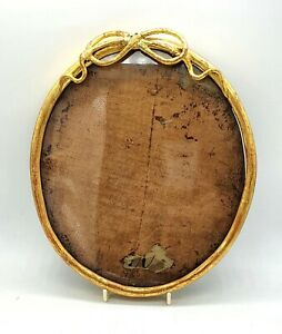 Antique Victorian Gilded Oval Picture Frame Wonderful Design 10 X 8 75