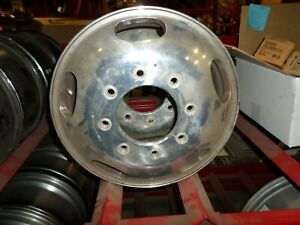 Used Oe 05 16 Ford F350 Dually Front Wheel 3618 17x6 5 8 200 Polished Finish