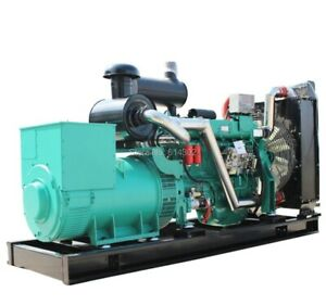Diesel Generators Water Cooled 200kw 250kva Three Phase Genset Power With Brushl