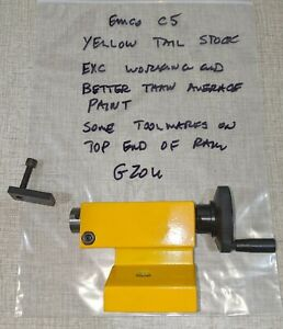 Emco Compact 5 Manual Lathe Parts Mt1 Tailstock G20u