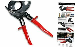 Aluminum Copper Ratchet Cable Cutters wire Cutters For Cutting 400mm2
