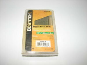 Bostitch Finish Nails Fn Style Angled 15ga 2 1 2 1000 pack Fn1540 1m New