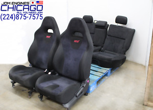 Jdm 03 08 Subaru Forester Wrx Sti Sg9 Front And Rear Seats