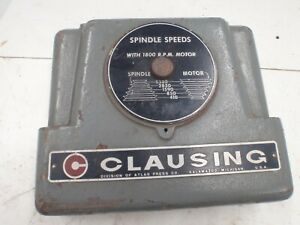Clausing Drill Press Cast Iron Face Plate