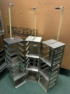 Used Stainless Steel Rack For Chest Freezer ln Tank Cryo Tank Dewar