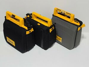 Lot Of 3 Medtronic Physio Lifepak 500t 500 Biphasio Aed Trainer Used With Case