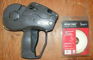 Monarch Paxar 1131 Price Tag Label Sticker Gun With Extra Pricing Labels Works