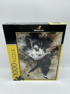 Brand New Sealed BRUCE LEE 1000 Piece Puzzle Master Pieces 20quot; x 27quot; $27.00