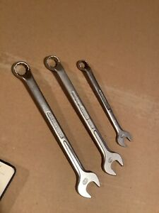 Gedore Cranked Combination Spanners 1b Metric X 3