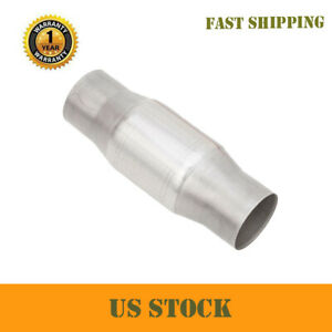 Universal 3 Catalytic Cat Converter High Flow Stainless