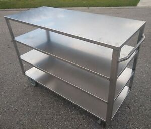 Queen Mary Utility Cart Wittco Food Service Equipment Wqm 49 Stainless Steel