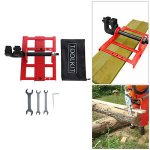 Vertical Chainsaw Mill Wood Lumber Cutting Guide Saw Chainsaw Attachment
