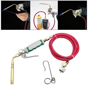 Welding Torch With Hose For Soldering Outdoor Picnic Mapp Propane Cooking
