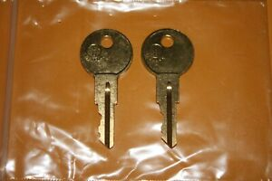 1 100 2 New Keys For Craftsman Tool Boxes Cut To Your Code Replacement Key