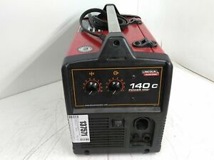 Untested Lincoln Electric 140c Power Mig Welder 120v No Accessories As is Parts