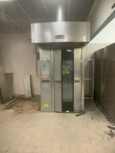 Baxter Natural Gas Ov500g1 Single Rack Grocery Bakery Roll In Convection Oven