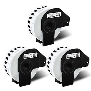 3rolls 1 1 X 100 Continuous Paper Tape Dk 2210 Forl Brother Ql Label Printer