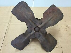 Ih Farmall Cub Tractor Front Fan Blade Assembly With Pulley