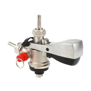Beer Keg Tap Coupler Kegerator S Type With Lever Handle Stainless Steel