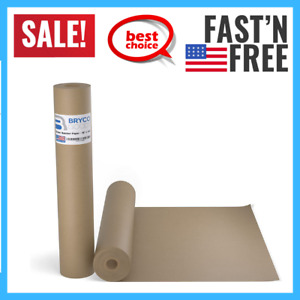 Brown Kraft Butcher Paper Roll 18 Inch X 100 Feet Brown Paper Roll For Wrapping