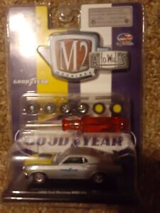 M2 Auto Wheels 1970 Ford Mustang Boss 429 1 64th Scale Diecast