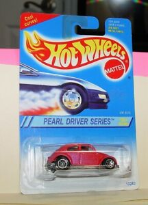 Vw Bug Hot Wheels 1994 95 Collector 293 Pearl Driver Series Pearl Pink 3 4