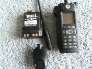 Used Apx 6000 7 800 Portable Radio With Battey antenna And No Charge with Tags