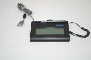 Topaz Systems 1x5in Lcd Signature Pad T lbk462 hsb r As Is