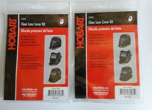 Hobart Lot Of 2 Clear Lens Cover Kit Part 770493 Sealed Free Shipping
