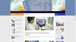 Cpionline org Established Radiology x ray Tech Adsense Affiliate Income Website