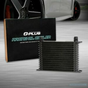 15 Row An10 Universal Full Aluminum Racing Engine Transmission Oil Cooler