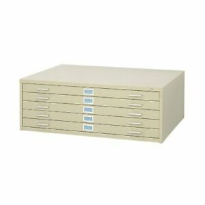 Safco Products Flat File For 42 w X 30 d Documents 5 drawer Additional Option