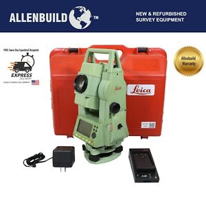 Leica Tcr405 Power Reflector Les Total Station For Construction Land Surveying