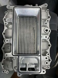 11 14 Mustang Coyote Tvs Roush Supercharger Lower Intake Intercooler Ported