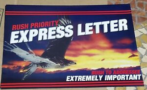 Full Color Large 9 X 12 Rush Priority Envelopes For Direct Mail