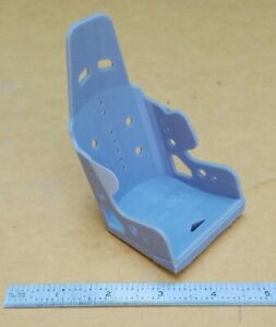 3d Resin Printed 1 8 Scale Aluminum Racing Seat Business Card Holder