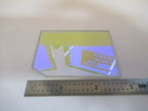 Optical Dichroic Coated Glass Beam Split Filter Optics As Pictured 27 b 16