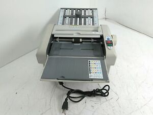 Defective Mbm 87m Manual Tabletop Paper Folding Machine As is For Parts